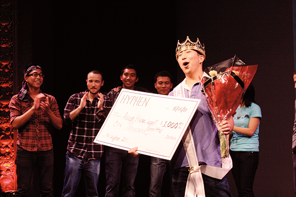 Winning Mr. Hyphen 2011 for APSC